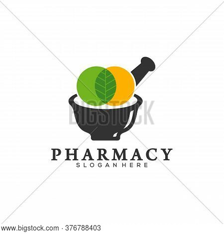 Creative Pharmacy Concept Logo Design Template, Medical Pharmacy Logo Vector, Icon Symbol