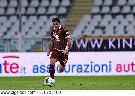 Torino, (italy). 16th July 2020. Italian Football Serie A. Torino Fc Vs Genoa Cfc. Simone Verdi Of T