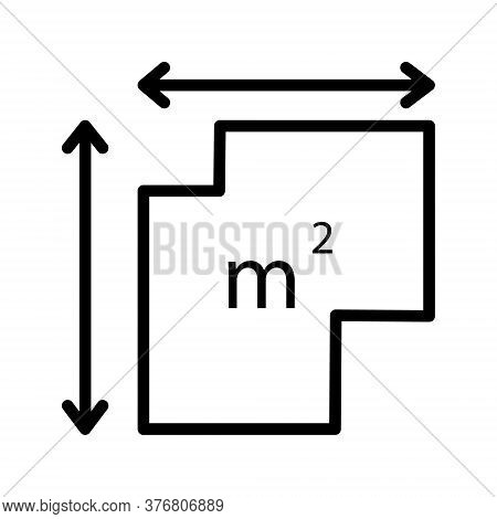 Real Estate Vector Icon. Choosing, Searching, Buying A House.