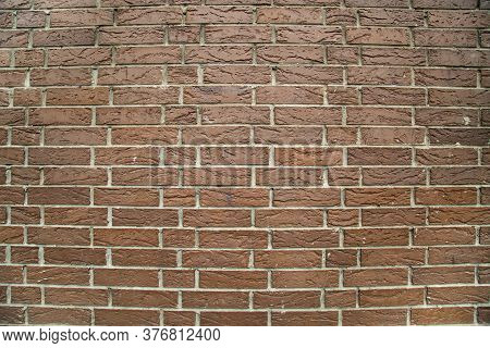 Background Of Terracotta Decorative Brick Wall. Textures Backgrounds Architecture Design Constructio