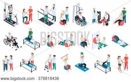 Physiotherapist Practice Rehabilitation Medical Center Recovery Exercises Program Equipment Massage