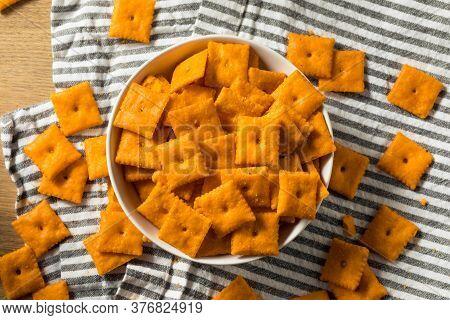 Salty Yummy Cheddar Cheese Crackers
