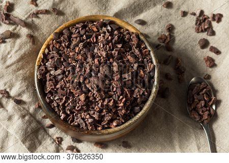 Raw Brown Organic Chocolate Cocao Nibs