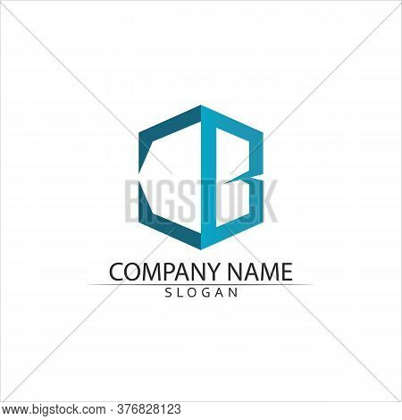 B Letter Logo Template Vector Illustration Vector Design