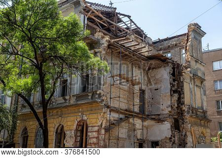 As Result Of Violation Of Building Codes During Reconstruction Of An Old Historic Building, House Co