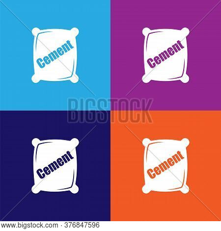Cement Premium Quality Icon. Elements Of Constraction Icon. Signs And Symbols Collection Icon For We