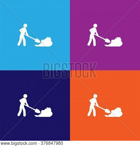 Working Premium Quality Icon. Elements Of Constraction Icon. Signs And Symbols Collection Icon For W