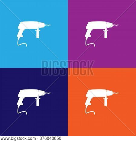 Drill Premium Quality Icon. Elements Of Constraction Icon. Signs And Symbols Collection Icon For Web