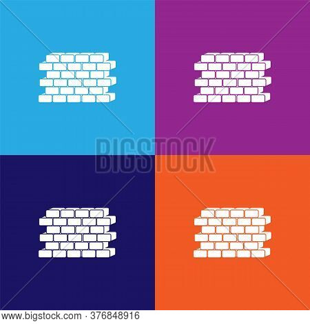 Wall Premium Quality Icon. Elements Of Constraction Icon. Signs And Symbols Collection Icon For Webs