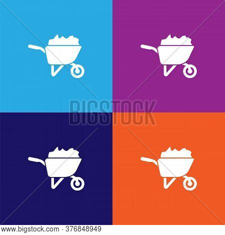 Building Trolley Premium Quality Icon. Elements Of Constraction Icon. Signs And Symbols Collection I