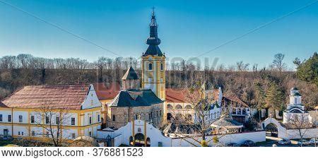 Privina Glava Monastery, Serbian Orthodox Monastery On The Fruska Gora Mountain In Vojvodina In Serb