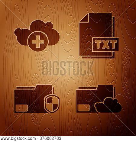 Set Cloud Storage Text Document Folder, Add Cloud, Document Folder Protection And Txt File Document