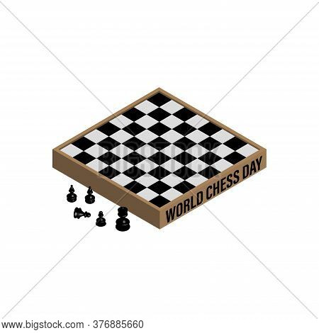 Vector Illustration About International Chess Day.
