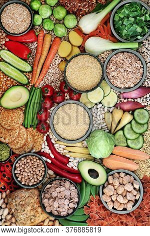 Health food for a plant based vegan diet with foods high in protein, vitamins, minerals, anthocyanins, omega 3, antioxidants, smart carbs and dietary fibre. Ethical eating for a healthy planet.