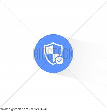 Safeguard Icon Vector In Trendy Flat Style. Safety, Security, Shield Protection Symbol Illustration