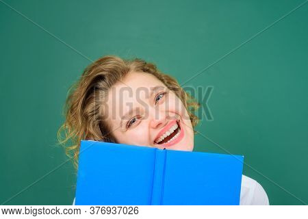 Education. Back To School. Smiling Teacher With Books. Funny Teacher. School Subjects. School. Job.