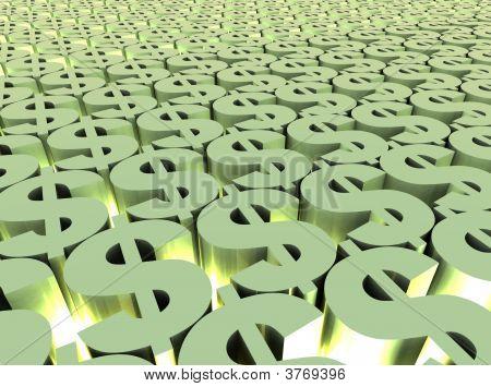 Dollar Field Background