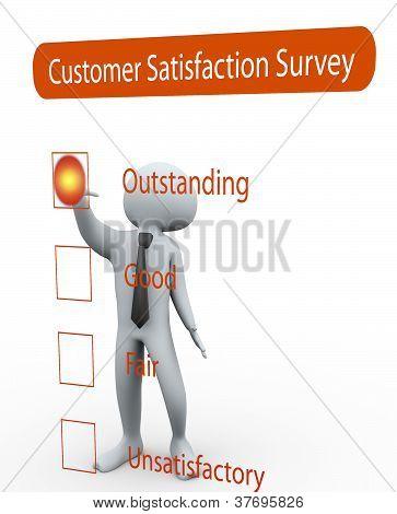 3D Man Rating Survey Questionnaire