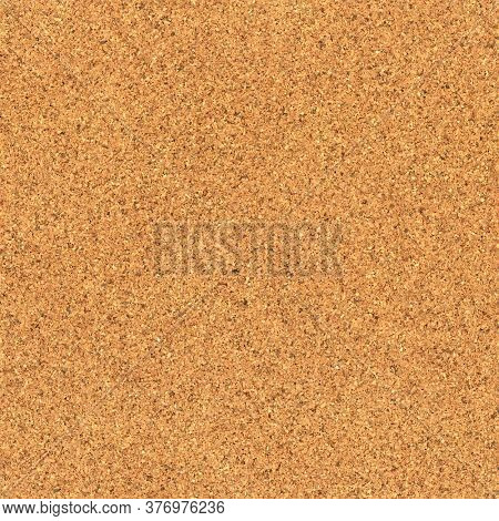 Empty blank cork board or bulletin board. Showing close up of corkboard texture. Seamless tiled texture.