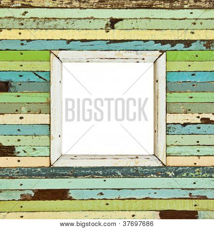 The Colorful Wooden Picture Frame