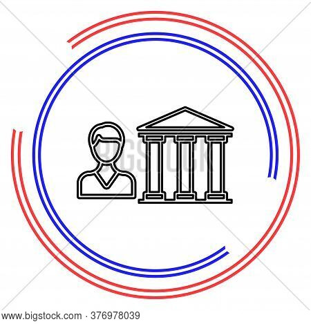 Banking Loan, Money Loans - Piggy Icon - Finance And Economy Symbol. Thin Line Pictogram - Outline E