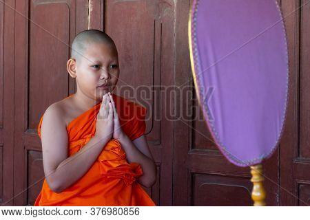 Ordain Become A Novice Monk Or Little Neophyte