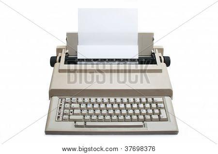 Retro Electronic Typewriter