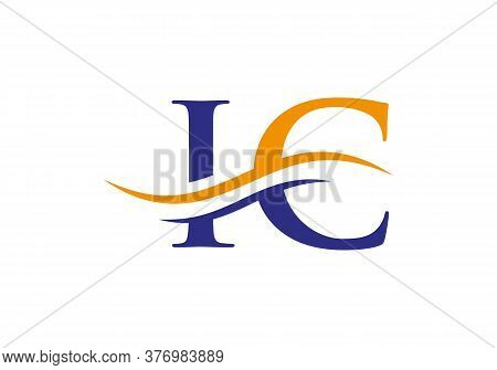 Beautiful Ic Logo Type For Luxury Branding. Elegant And Stylish Design For Your Company