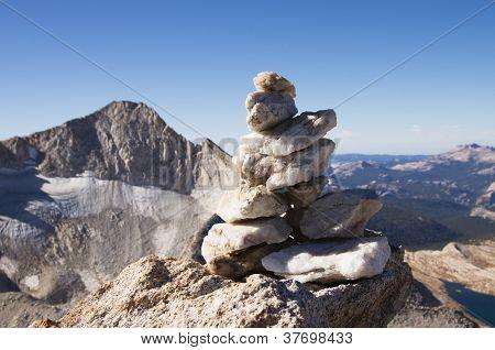 Quartz Summit Cairn
