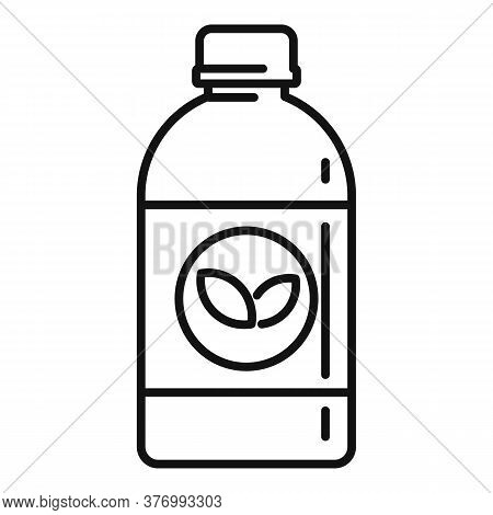 Plants Cough Syrup Icon. Outline Plants Cough Syrup Vector Icon For Web Design Isolated On White Bac