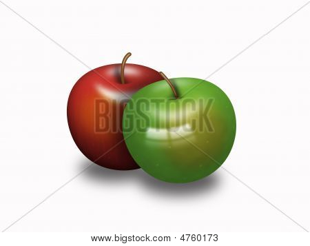 Two Delicious Apples