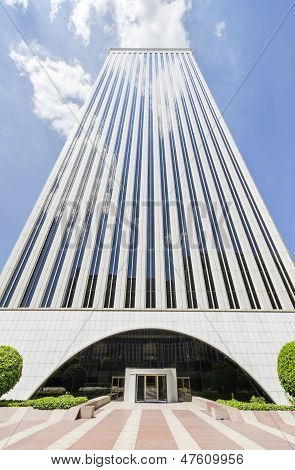 Madrid, Spain-4 May: Picasso Tower At Financial Center In Madrid On 4 May, 2013.