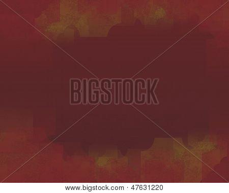 brick red background blurred