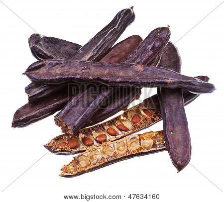 Dry Carob Pods