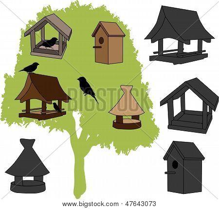 Feeder - Bird House