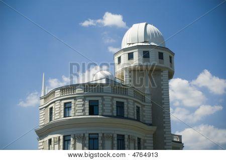 Urania Building In Vienna