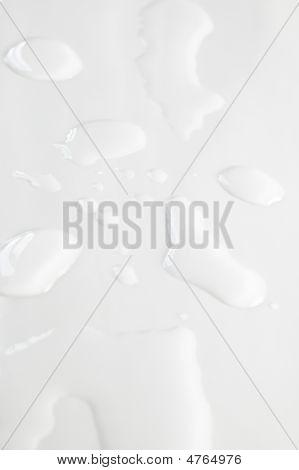 Splash On White Background