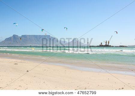 Milnerton Beach In Cape Town