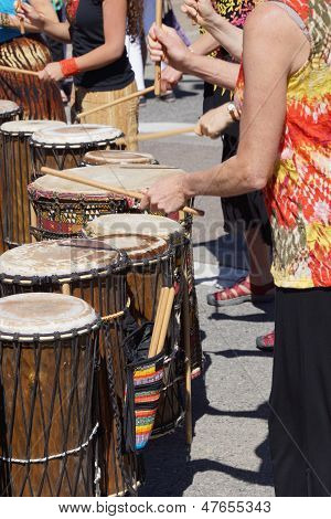 Drums Played By Women