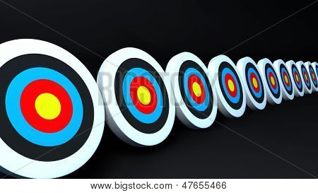 Color Targets Black