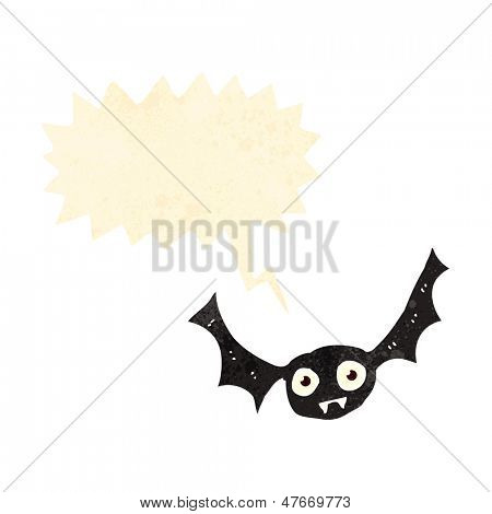 screeching halloween bat cartoon
