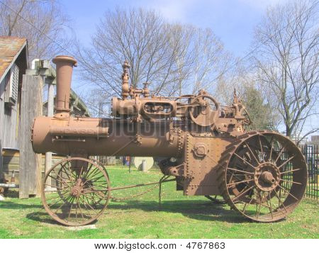 An Old Fashioned Tractor