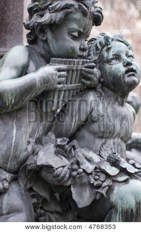 Sculptures Of Musicians