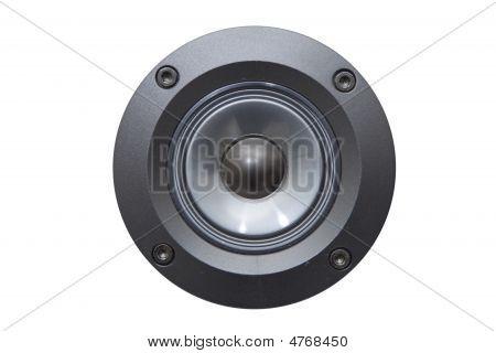 Close Up Of A Speaker