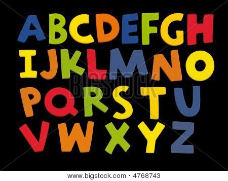 Letters A-z