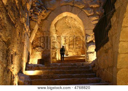 in Ajlun Burg