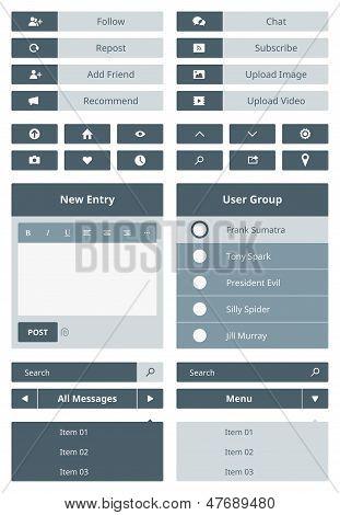 Website User Interface Form