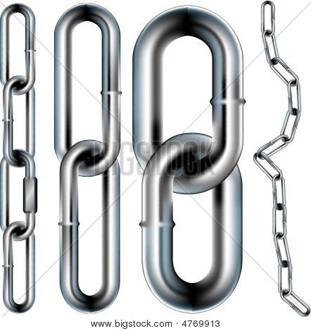 Chain-link-seamless