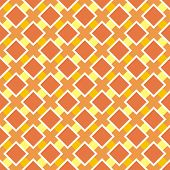 Sunny orange vector background for website, wallpaper, desktop, invitations, wedding or birthday card and scrapbook. Seamless vector retro summer or autumn pattern. poster