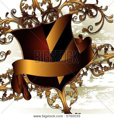 Shield decorative